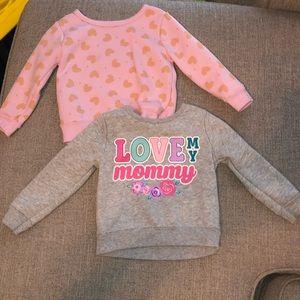 Baby girl sweatshirts